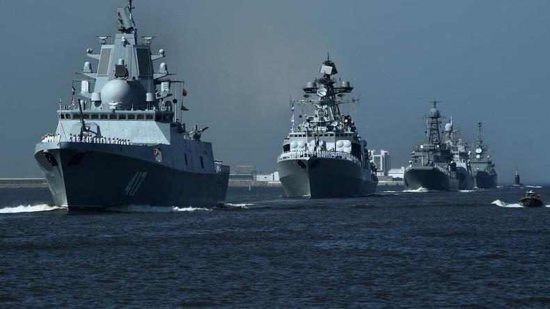 Droht Konfrontation mit USA im Mittelmeer? Russland stationiert 17 Kampfschiffe zum Schutz Syriens