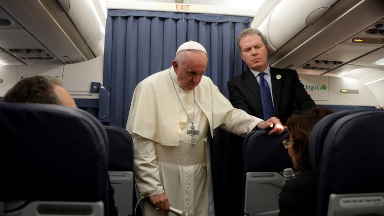 """""""Gebete und Psychiatrie"""": Vatikan rudert nach Papst-Äußerungen über Homosexualität zurück"""