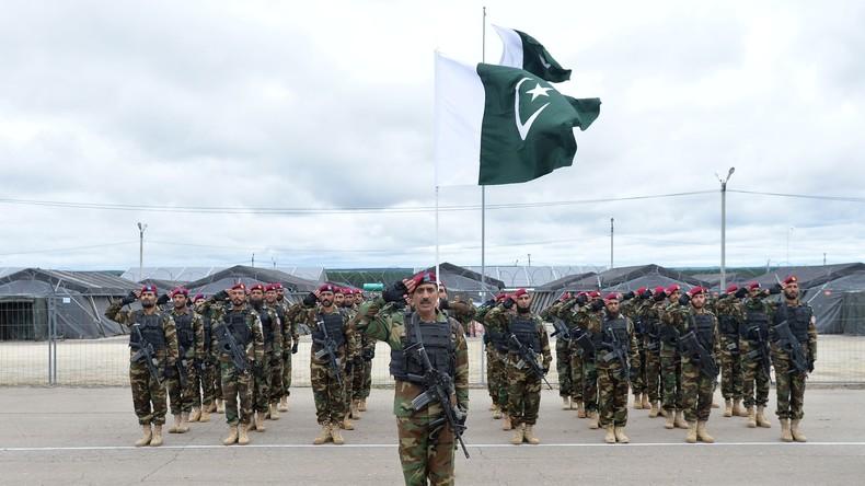Indien und Pakistan nehmen erstmals gemeinsam an SOZ-Anti-Terror-Übung teil