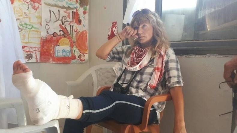 Israelische Streitkräfte schießen norwegische Friedensaktivistin zweimal in einer Woche an (VIDEO)