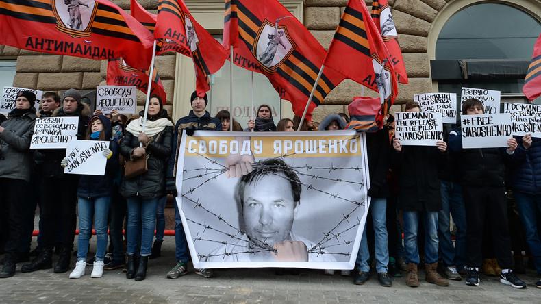 Russischer Pilot Jaroschenko strebt UNO-Untersuchung seiner Entführung durch US-Sonderdienste an