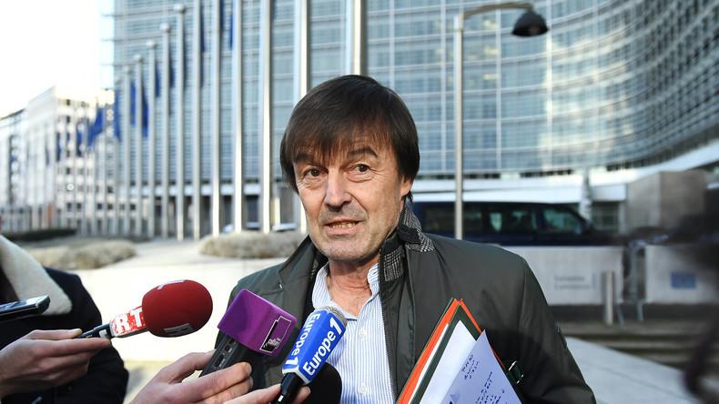Macrons Stern sinkt: Frankreichs Umweltminister tritt während eines Live-Interviews zurück