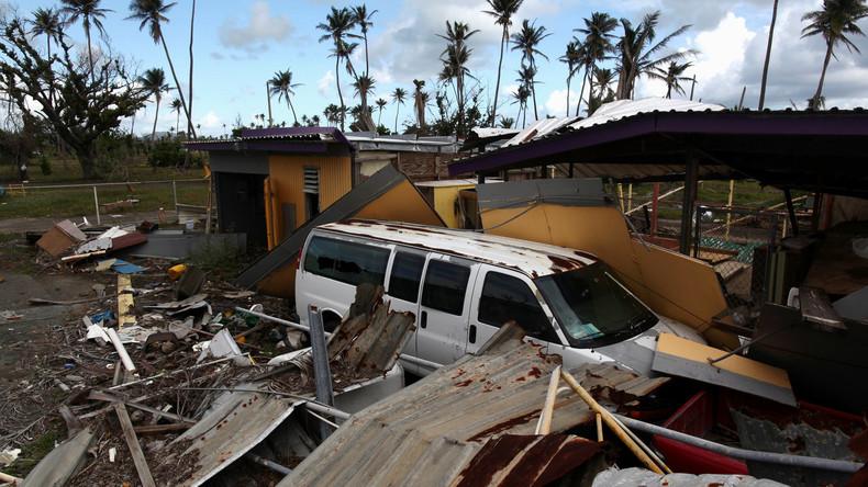 """Fast 50mal so viele Opfer - Puerto Rico korrigiert nochmals die Opferzahlen nach Hurrikan """"Maria"""""""