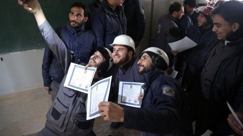 Syrien: Planen Terror-Helme einen inszenierten Chemiewaffenangriff? (Video)