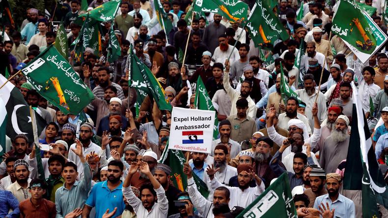 Pakistan: Proteste gegen Mohammed-Karikaturen in den Niederlanden – Anschlag auf Wilders vereitelt