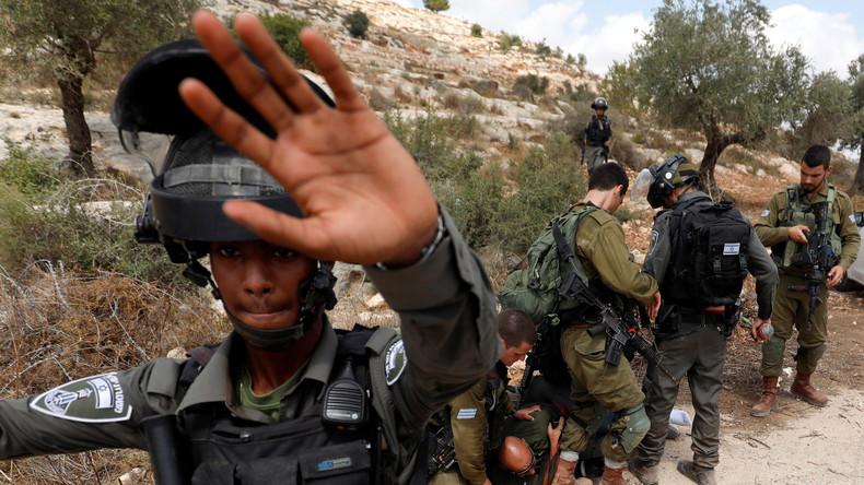 Norwegische Palästina-Aktivistin: Israelische Armee hat mit Absicht auf mich geschossen (Video)