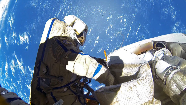 Luftleck auf ISS: Besatzung außer Gefahr