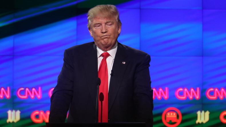 "Trump nimmt den Kampf gegen ""Fake News"" bei CNN auf"
