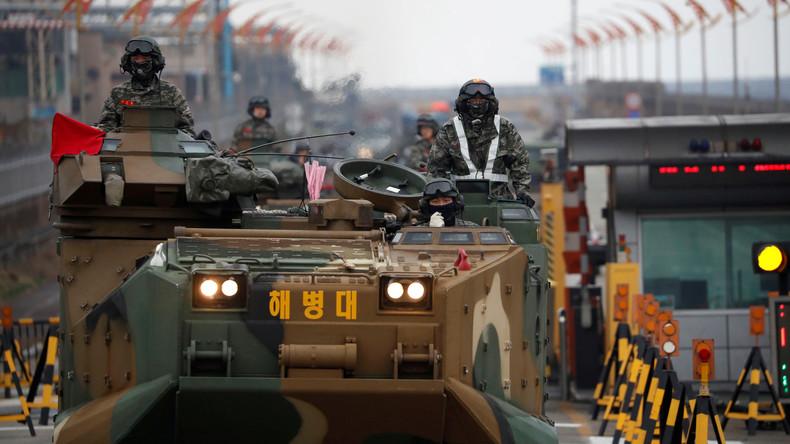 USA nehmen Militärmanöver in Südkorea wieder auf (Video)