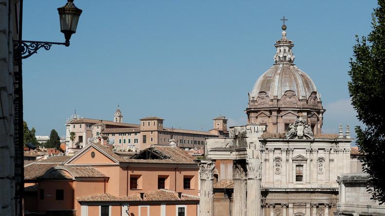 Kirchendach in Rom eingestürzt - Mamertinischer Kerker beschädigt