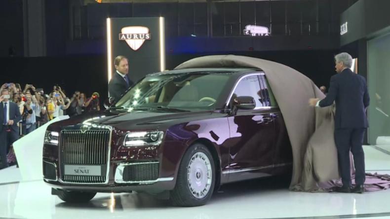 Die kann bald jeder kaufen: Russische Präsidenten-Limousine feiert Weltpremiere auf der MIAS 2018