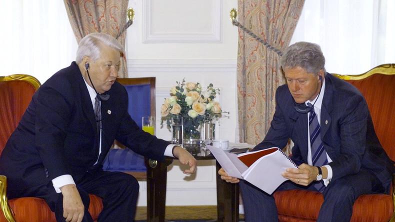 """""""Gleichberechtigte Partnerschaft"""" in den Neunzigern? Wie es wirklich war: Clinton-Jelzin-Abschriften"""