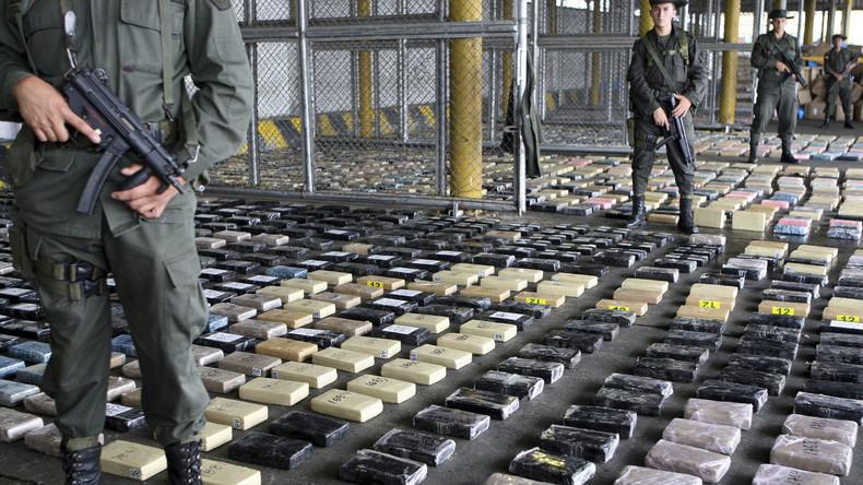 Drogennetzwerk vermutet: US-Soldat wegen Kokainschmuggels aus Kolumbien verhaftet