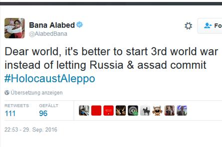 Bana, Hala, Noor und Alaa - Wie Kinder im syrischen Bürgerkrieg für Propaganda missbraucht werden