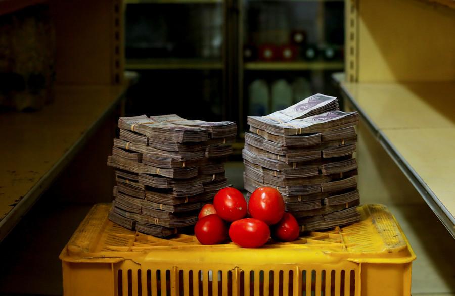 Ein Kilo Tomaten kostet 5.000.000 Bolivars, das entspricht 0,76 US-Dollar.