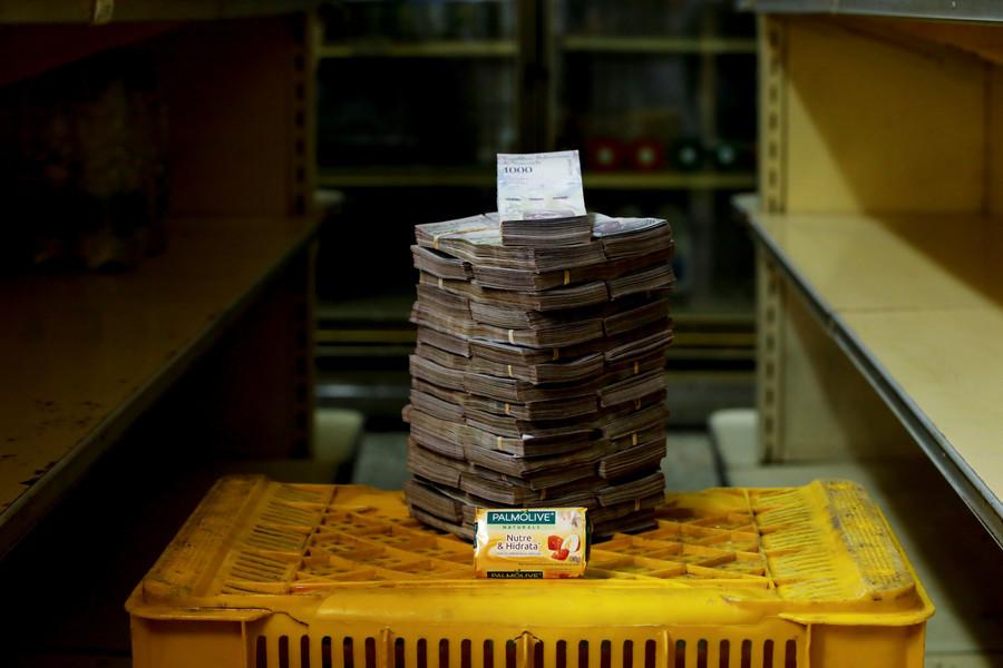 Ein Stück Seife kostet 3.500.000 Bolivars, das entspricht 0,53 US-Dollar.