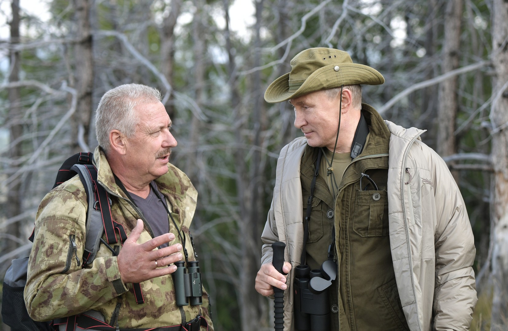 Putin und Kiseljow