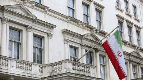 Iranische Botschaft in London, Großbritannien, 20. August 2015.