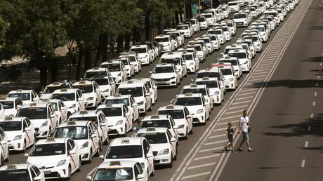 Spanische Taxifahrer beenden Streik gegen Uber