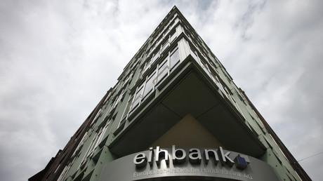 Europäisch-Iranische Handelsbank in Hamburg, Deutschland, 8. September 2010.