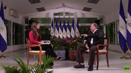 Daniel Ortega im Exklusiv-Interview für RT: