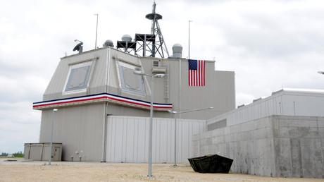 Das Raketenabwehrsystem auf der US-Basis im rumänischen Deveselu.