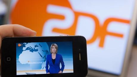 Die ZDF-Nachrichtensendung