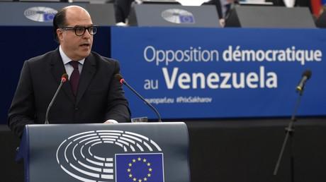 Venezuela schreibt Oppositionsführer Julio Borges weltweit zur Fahndung aus (Archivbild)