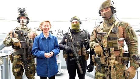 Was bereitet Verteidigungsministerin Ursula von der Leyen mit der Großübung