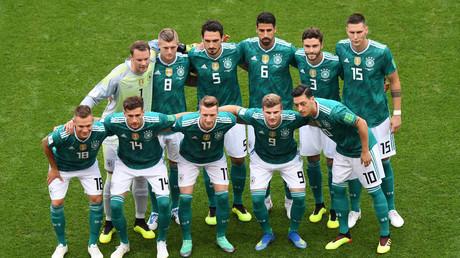 Deutschland stürzt in der Fußball-Weltrangliste ab (Archivbild)