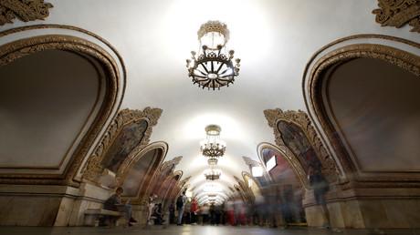 Die Moskauer Metrostationen gehören mit ihrer teilweise prachtvollen Architektur zu den schönsten der Welt.