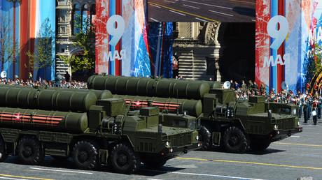 Das S-400-System bei einer Militärparade in Moskau.