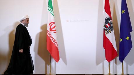 Der iranische Präsident Hassan Rohani zu Gast in Wien, Österreich, 4. Juli 2018.