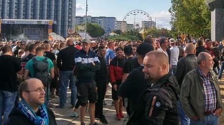 Proteste in Chemnitz am Sonntag