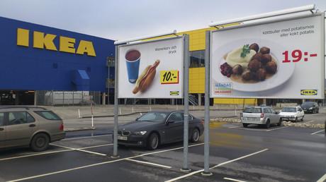 Symbolbild: Ikea-Parkplatz, Malmö, Schweden, 25. Februar 2013.