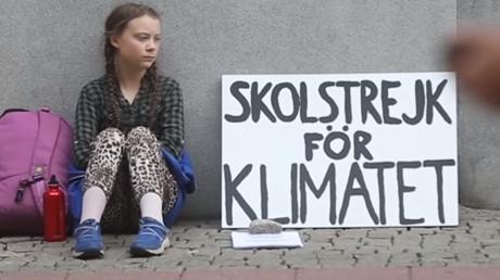 Macht in Sachen Klima Ernst: Greta aus Schweden.