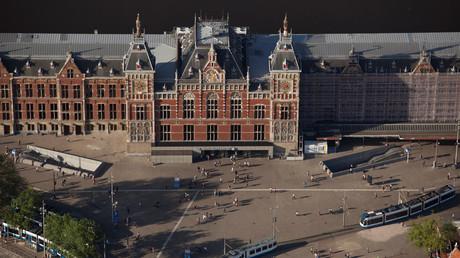 Der Amsterdamer Hauptbahnhof