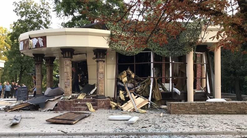 Explosion in Donezk: Auch Leibwächter von Alexander Sachartschenko ist tot