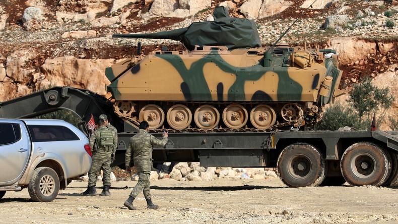 Türkei verstärkt Truppen in Syriens Provinz Idlib