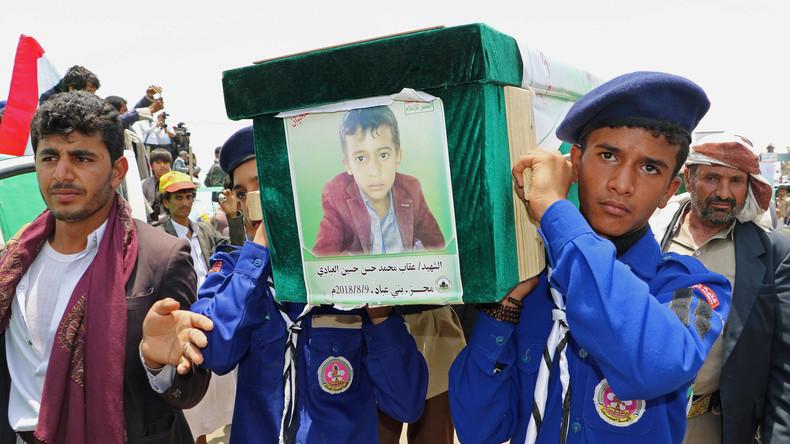 Saudi-Arabien räumt Fehler bei Angriff auf Schulbus im Jemen ein