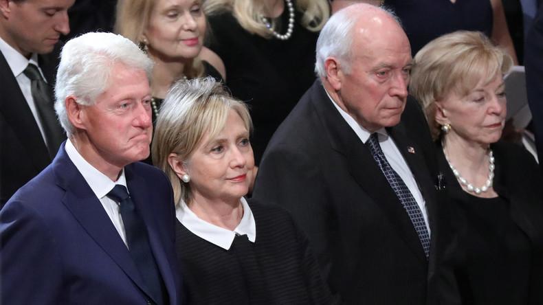 Trauerzeremonie für John McCain: Alle haben sich lieb