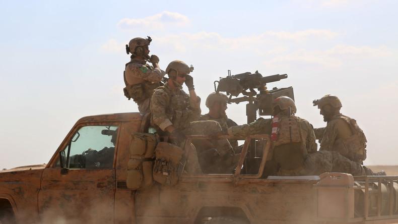 Werte-Westen als skrupelloser Geiselgangster in Syrien