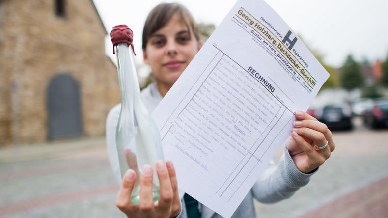 In einer besseren Zeit eingetroffen: Enkel des Schreibers findet 88 Jahre alte Flaschenpost