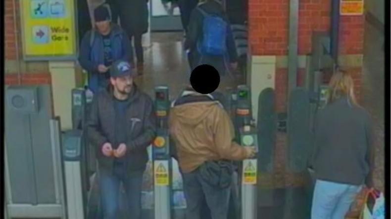 Causa Skripal: Von Scotland Yard veröffentlichte Fotos der angeblichen russischen Agenten