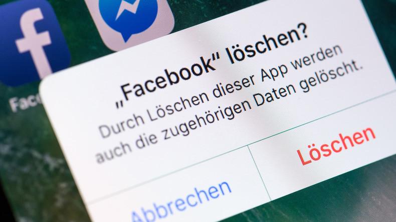 Weniger Facebook: Jeder vierte US-Bürger löschte App im letzten Jahr von seinem Handy