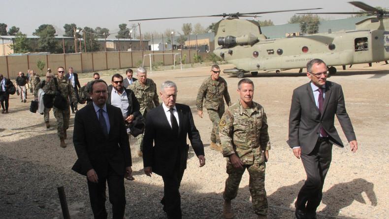 US-Verteidigungsminister Mattis überraschend zu Besuch in Kabul