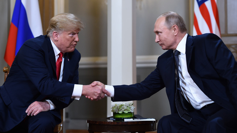 """Donald Trump: """"Eines meiner besten Treffen überhaupt war mit Wladimir Putin"""""""