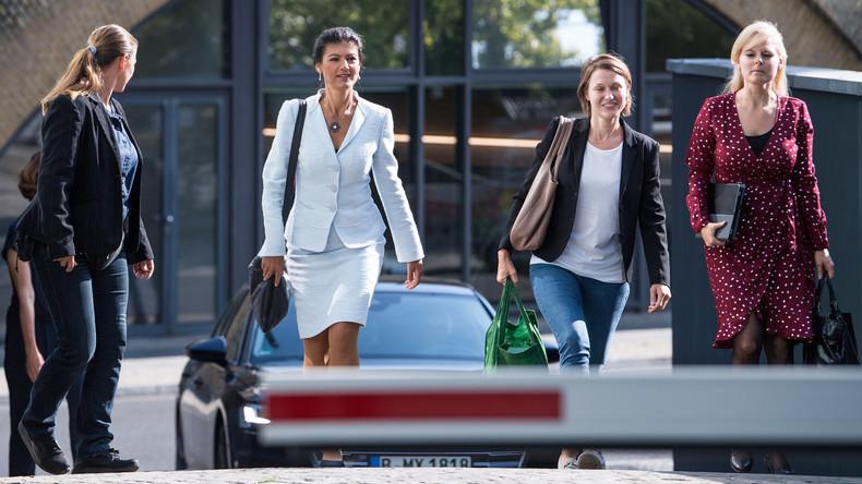 Podiumsdiskussion zu #aufstehen: Sahra Wagenknecht versus Kevin Kühnert