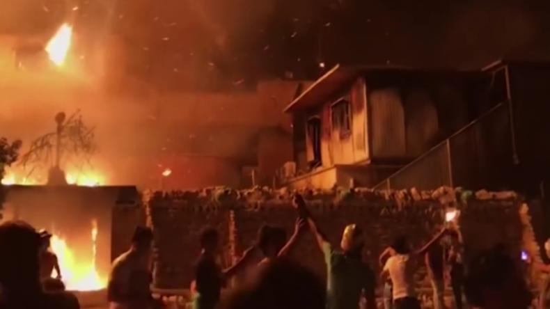 Tote im Irak: Demonstranten setzen wegen Korruption und Armut Regierungsgebäude in Brand