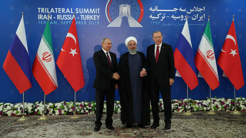 Putin zu Gipfel in Teheran: Gemeinsame Priorität liegt in Eliminierung der Terroristen in Syrien